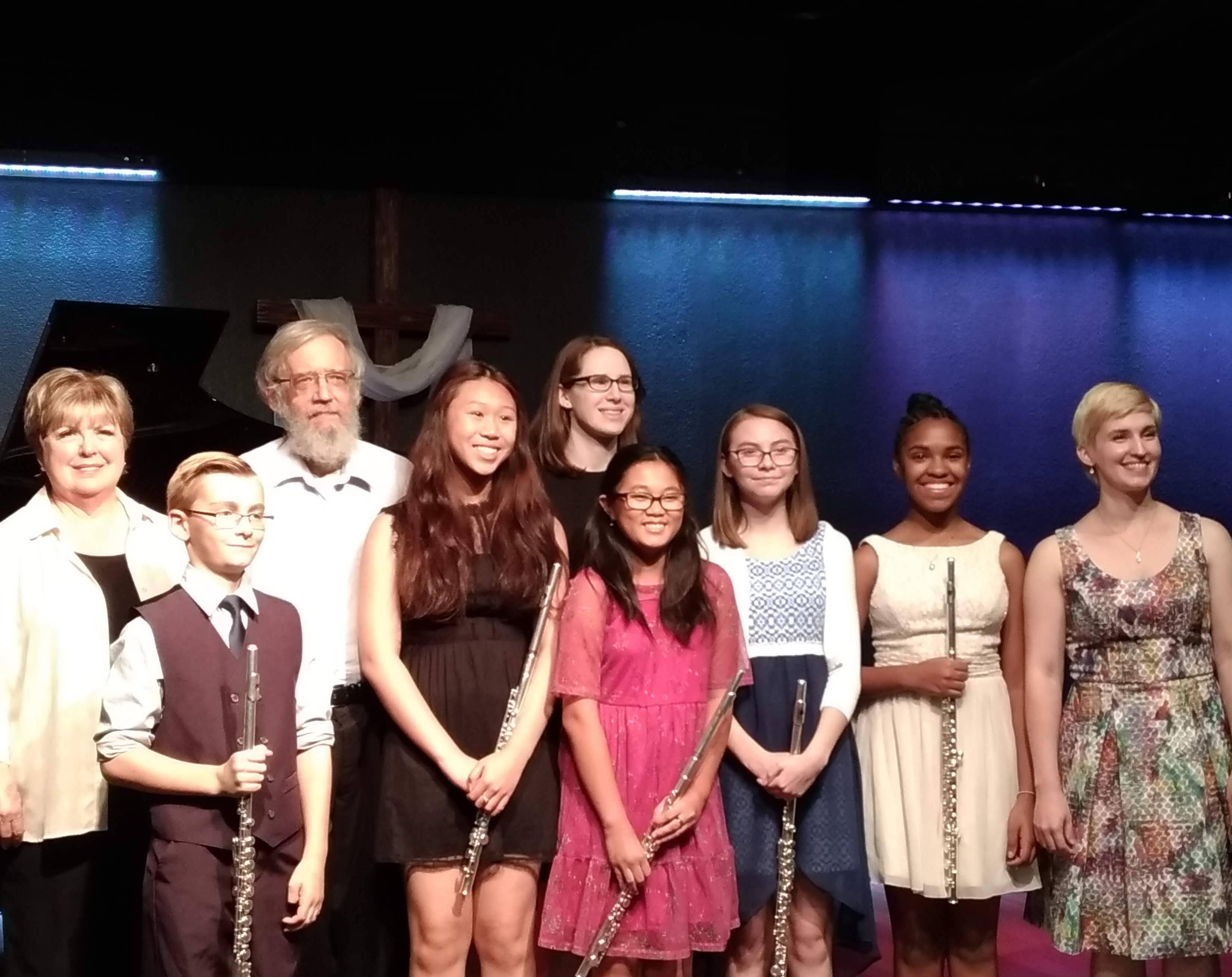 Flute lessons near Chandler, Tempe, Mesa, Gilbert, Phoenix, AZ