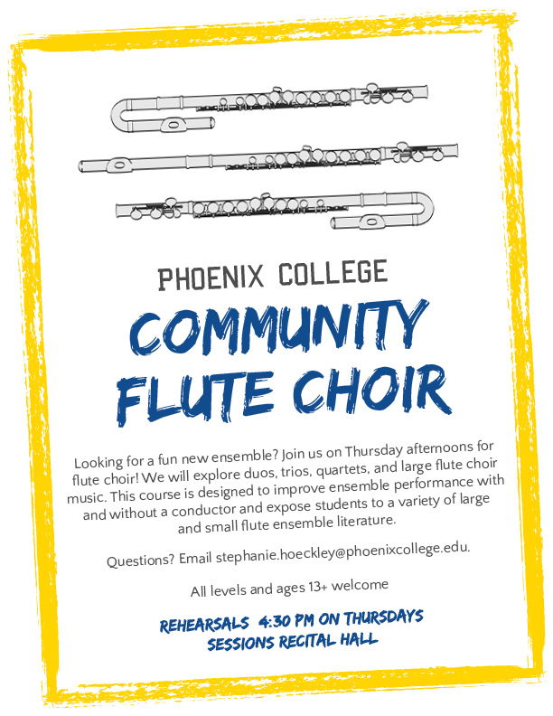 Phoenix-College-Flute-Choir-Flyer